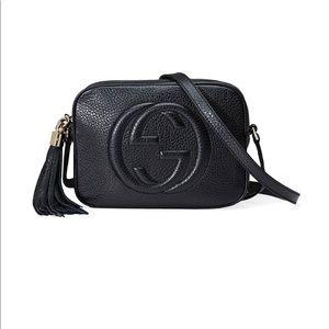 Gucci black soho bag